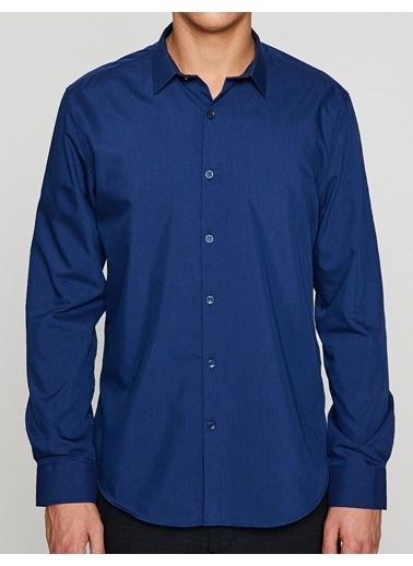 Klasik Uzun Kollu Gömlek-Koton